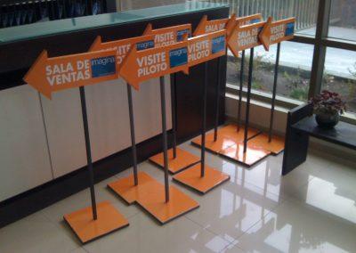 Dpimpress - Señaléticas Sala de Ventas Concepción