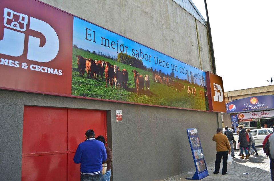DPImpress - Letreros Luminosos Carnes JD Concepción