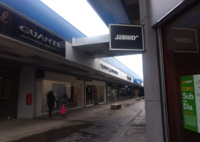 Dpimpress - Señaléticas Subway Concepción