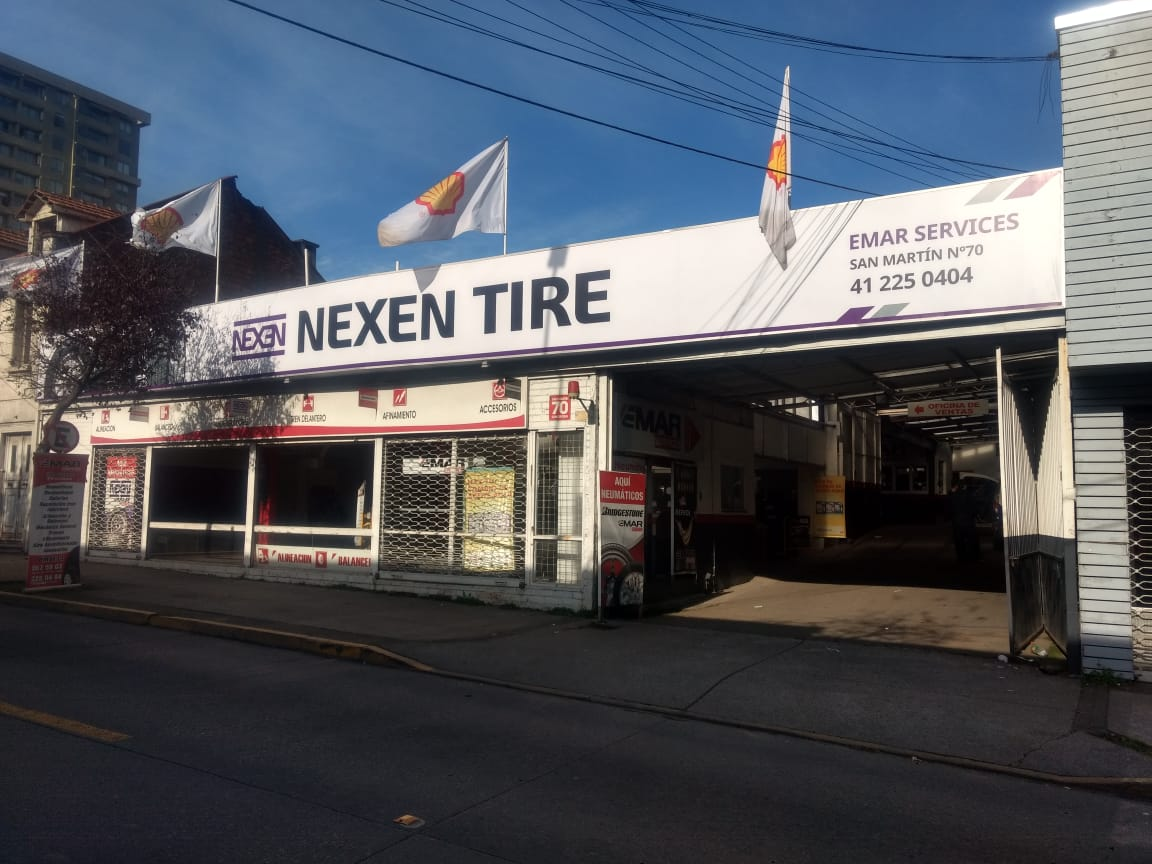 DPImpress - Letreros Luminosos Nexen Tires Concepción