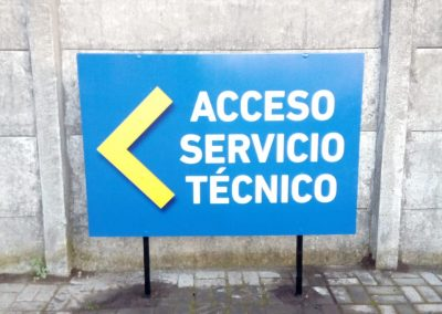 Dpimpress - Señaléticas de acceso Concepción