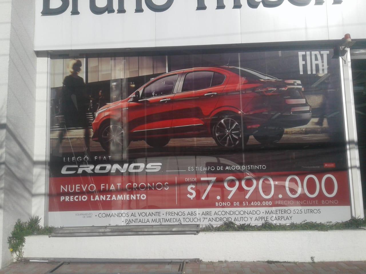 DPImpress - Window Vision FIAT Concepción