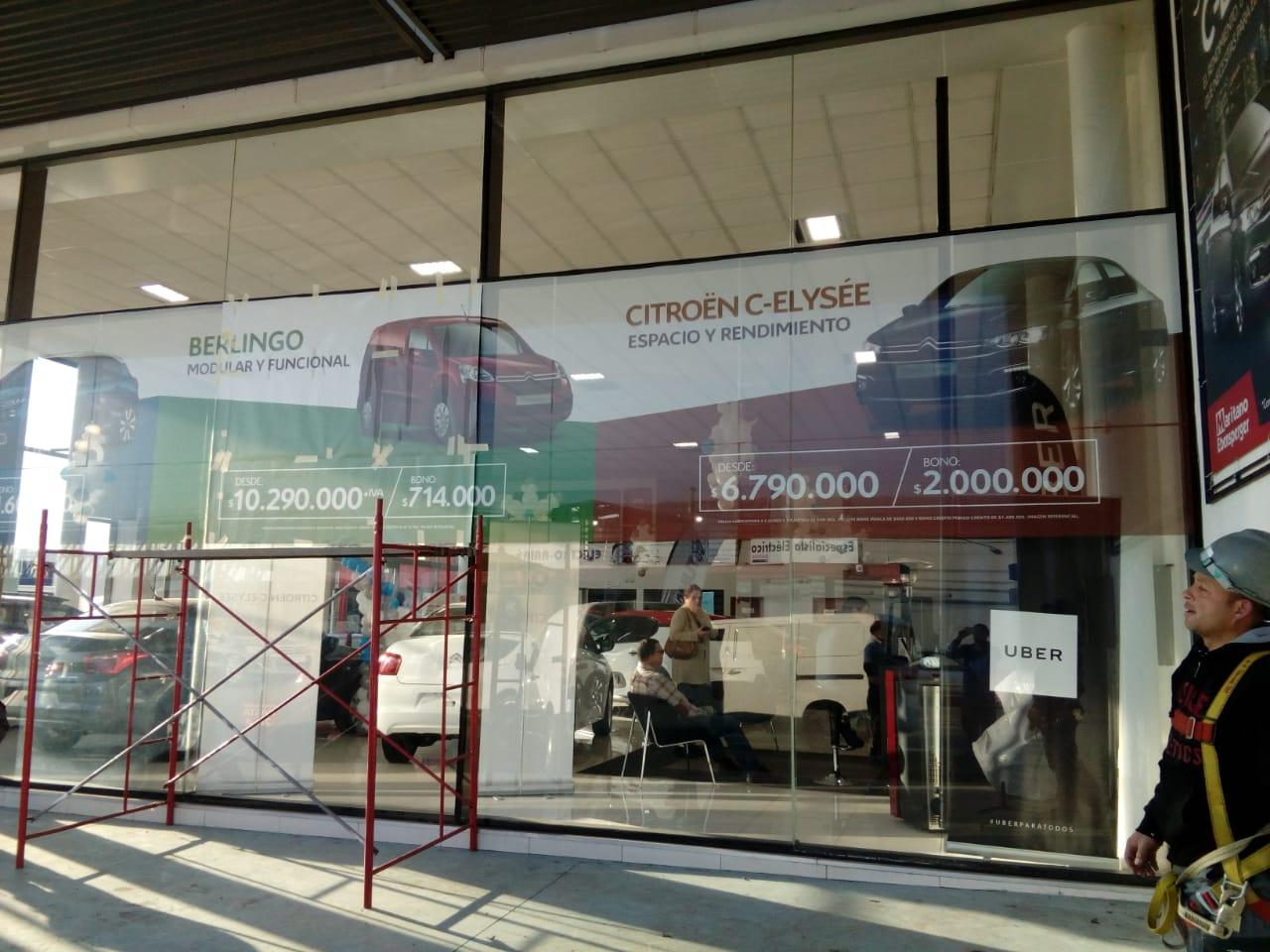 DPImpress - Window Vision Citroen Concepción