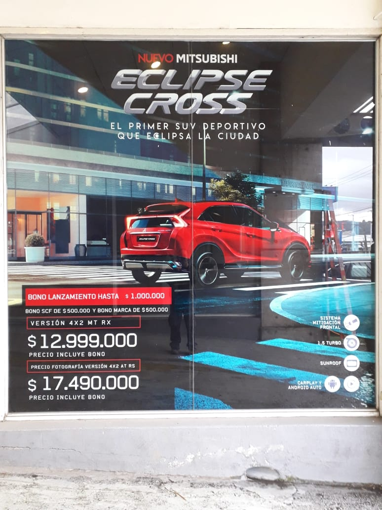 DPImpress - Window Vision Mitsubishi Concepción