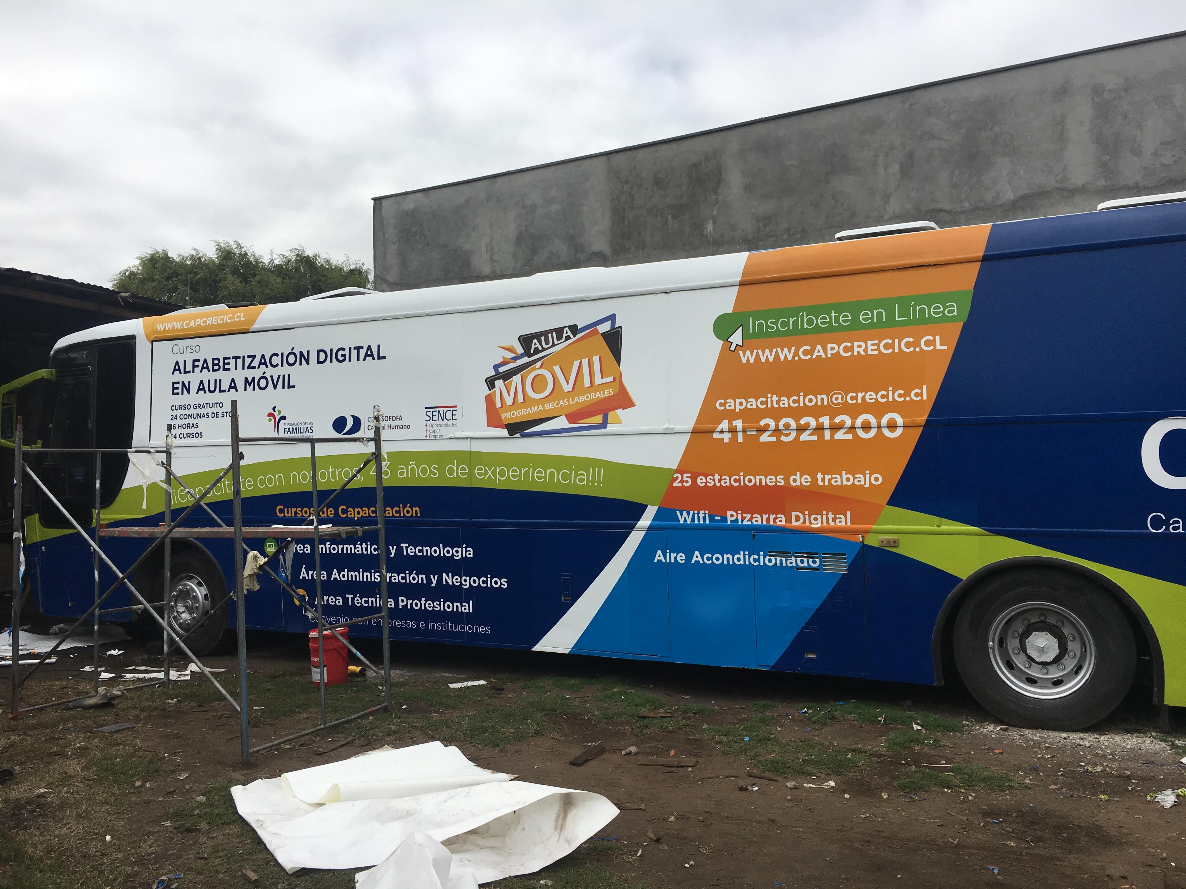 DPImpress - Adhesivo vehicular Crecic Concepción