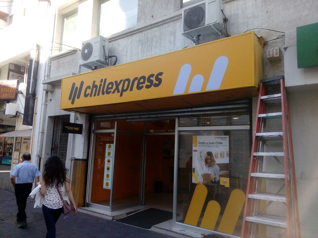 DPImpress - Letreros Concepción Chilexpress