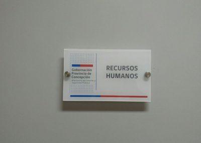 Dpimpress - Acrílicos Gobernación Pronvincial Concepción