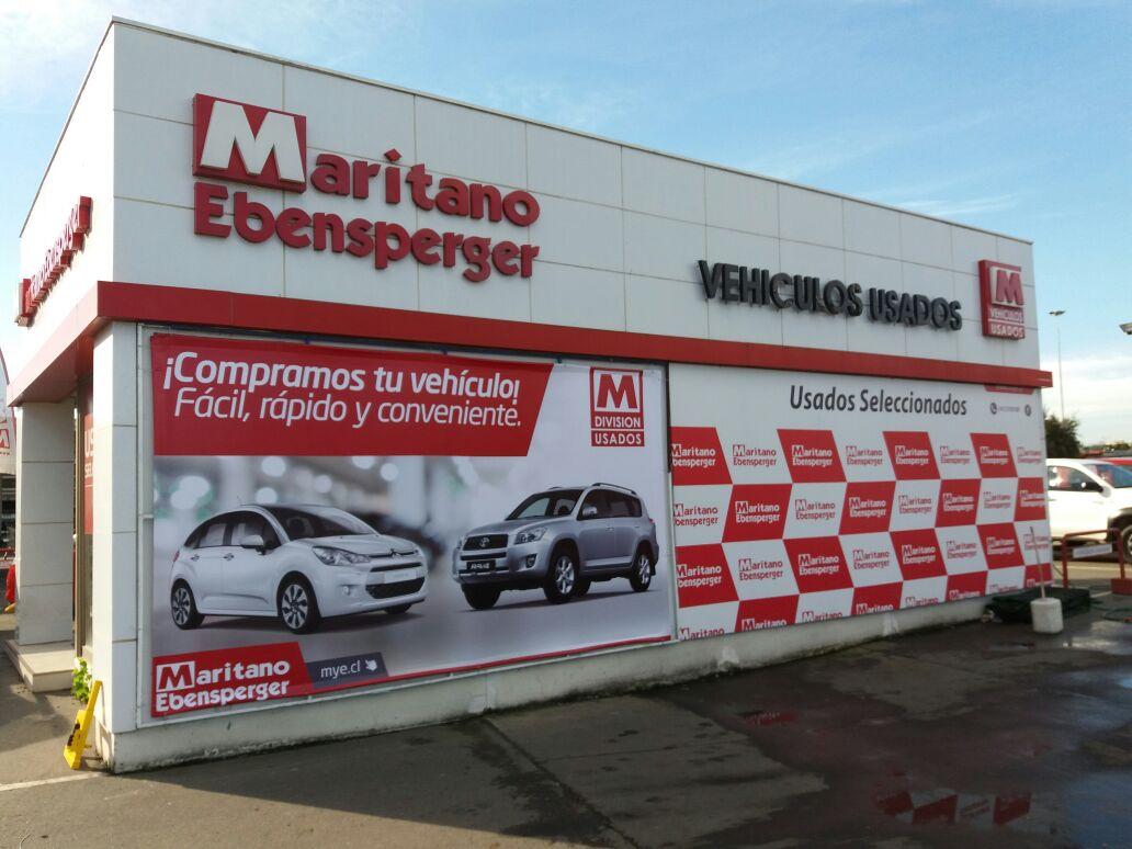 DPImpress - Letreros Volumetricos Maritano Concepción