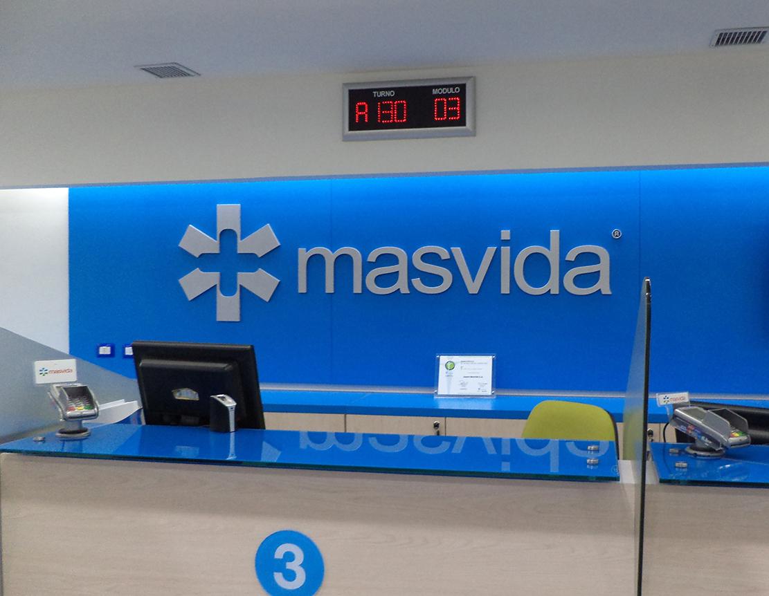 DPImpress - Letreros Volumetricos Más Vida Concepción
