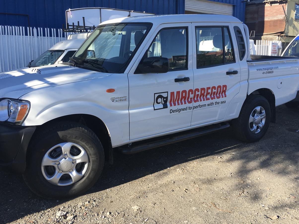 DPImpress - Adhesivo vehicular Macgregor Concepción