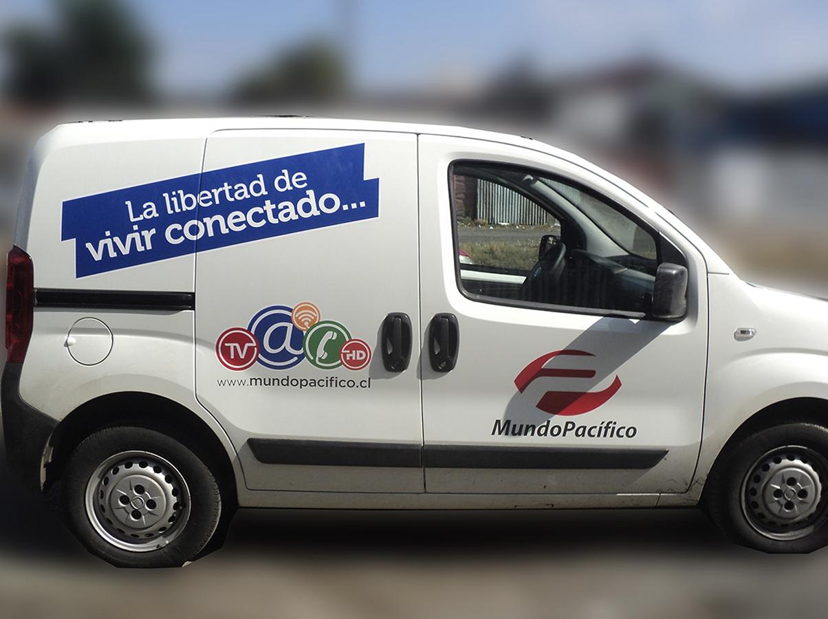 DPImpress - Adhesivo vehicular Mundo Pacifico Concepción