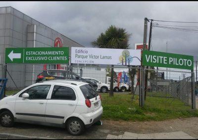 DPImpress - Estructuras Gráficas y Soportes Parque Victor Concepción